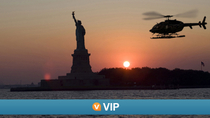 Viator VIP: NYC Evening Helicopter Flight and Statue of Liberty Cruise, New York City
